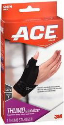 Ace Thumb Stabilizer SM/M Moderate - 1 ea., Pack of 3