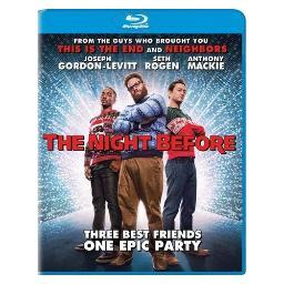 Night before (2015/blu-ray/ultraviolet/ws 2.40/dol dig 5.1) BR46286