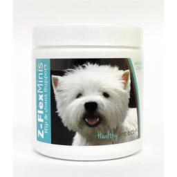 Healthy Breeds 840235116615 West Highland White Terrier Z-Flex Minis Hip & Joint Support Soft Chews, 60 Count