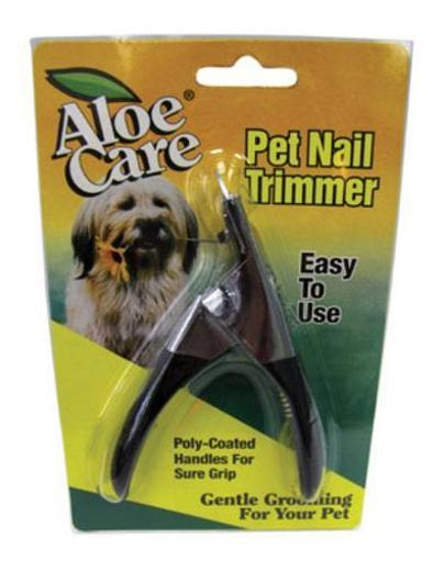 Aloe Care 06660 Stainless Steel Pet Nail Clipper
