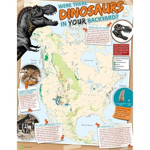 Eureka EU-837260 Smithsonian Are There Dinosaurs In