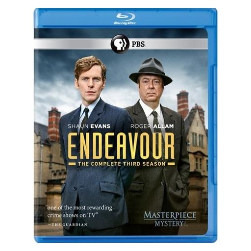 Masterpiece mystery-endeavour series 3 (blu-ray/2 disc) 1294375