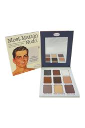 the Balm Meet Matte Nude Eyeshadow Palette 0.9 oz W-C-8004