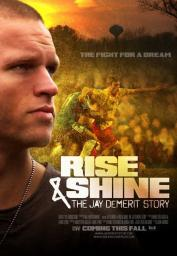 Rise & Shine The Jay DeMerit Story Movie Poster (11 x 17) MOVAB05884