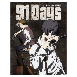 91 days-complete series (blu-ray/dvd combo/limited edition/4 disc) BRCR01317