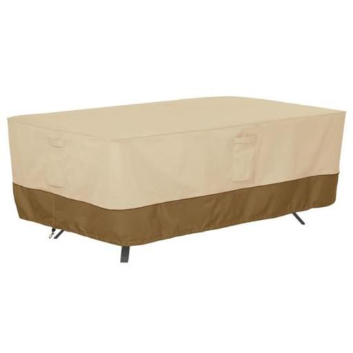 Classic Accessories 55-568-011501-00 Rnd Table Cover, Pebble
