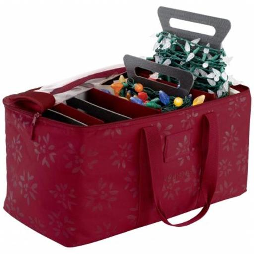 Classic Accessories 57-007-014301-00 Seasons Collection Holiday Lights Storage Duffel