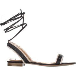 Lucky Brand Womens Toree Fabric Open Toe Casual Ankle Strap Sandals