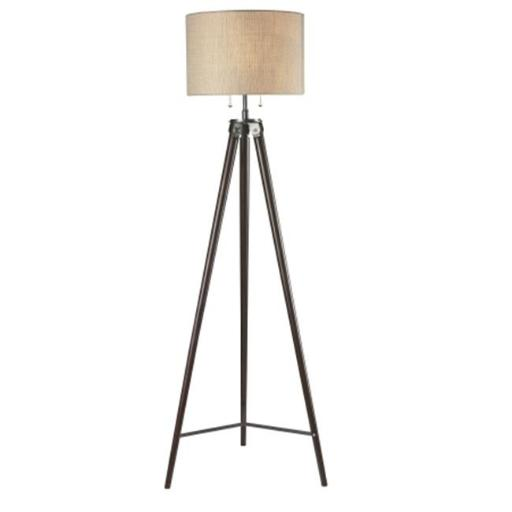 L2 Lighting DC5555LL1063 60 in. Paige Tripod Floor Lamp