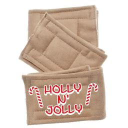 Mirage Pet 500-110 HJSM Peter Pads Small Holly N Jolly - Pack of 3