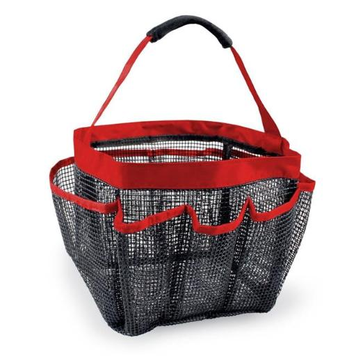 Design Imports Shower Caddy Red