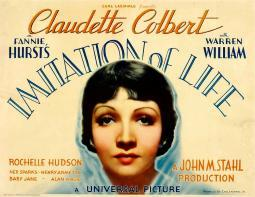 Imitation Of Life Claudette Colbert 1934. Movie Poster Masterprint EVCMMDIMOFEC002H