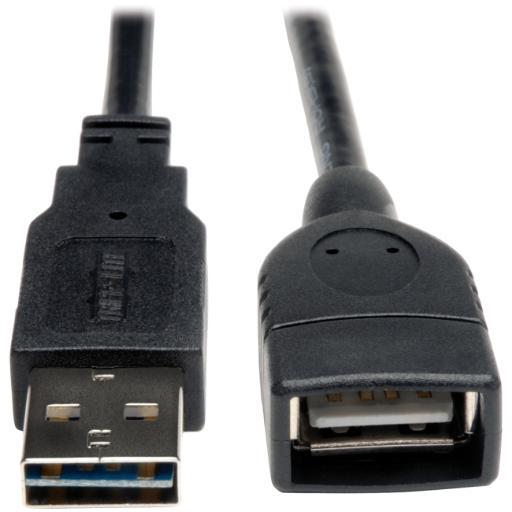 Tripp Lite Ur024-006 Universal Reversible Usb 2.0 Hi-Speed Extension Cable (Reversible A To A M/F), 6