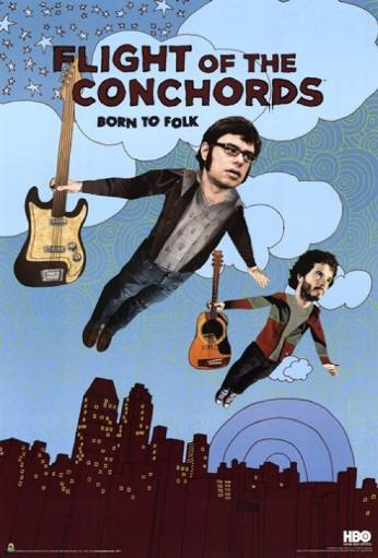 Flight of the Conchords - Season 2 - Born to Folk Poster Poster Print