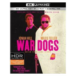 War dogs (2016/blu-ray/4k-uhd/digital hd) BR630702