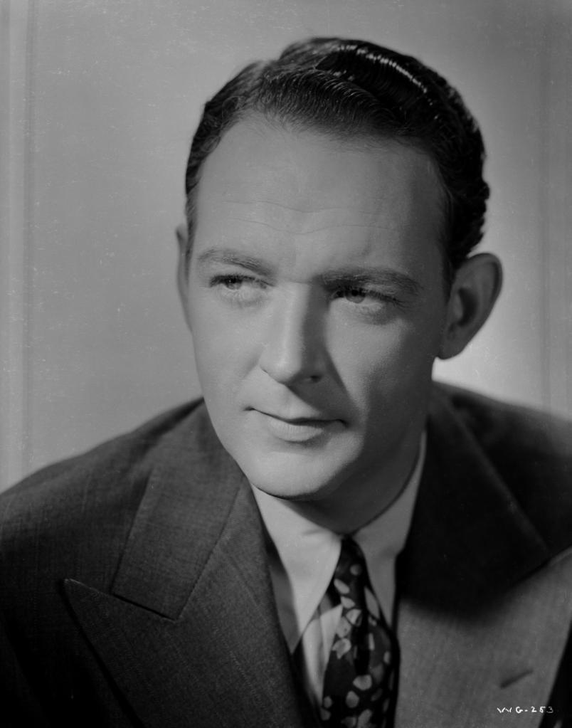 A Portrait Of William Gargan Photo Print
