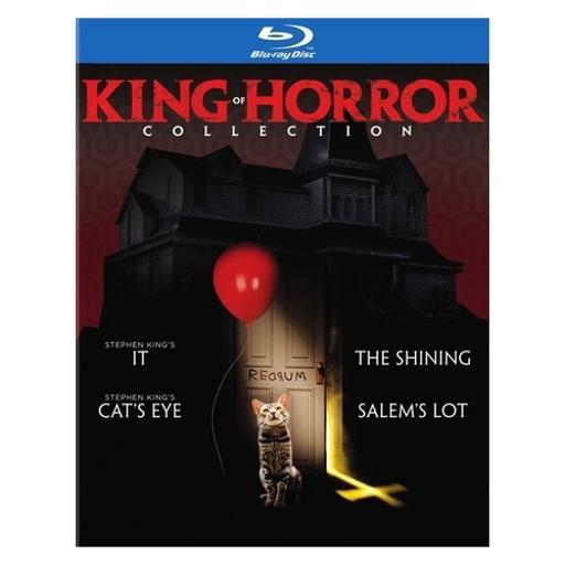 King of horror collection (blu-ray/it/shining/catseye/salems lot) 1291295