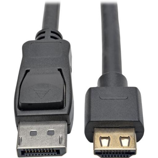 Tripp lite p582-006-hd-v2a dp to hdmi adapter cable 6ft