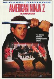 American Ninja 2: The Confrontation Movie Poster Print (27 x 40) MOVAF1976