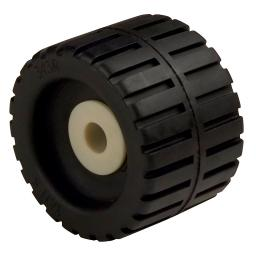 """Ce smith ribbed wobble roller  4-3/8""""-5/8"""" w/bushing black 29531"""