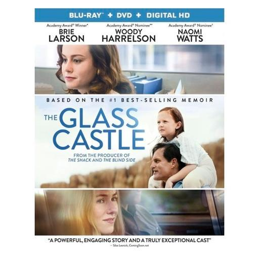 Glass castle (blu ray/dvd combo) (2discs) (ws/eng/sp/sp sub/eng sdh/5.1dts-