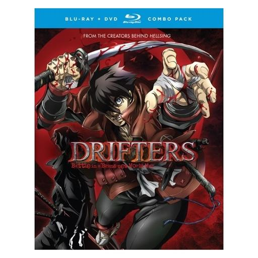 Drifters-complete series (blu-ray/dvd combo/4 disc) KQ0STMEJXLHS8CXE