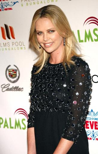 Charlize Theron At Arrivals For 2007 Cinevegas Film Festival Awards Reception, The Palms Pool And Bungalows, Las Vegas, Nv, June 15, 2007. Photo.