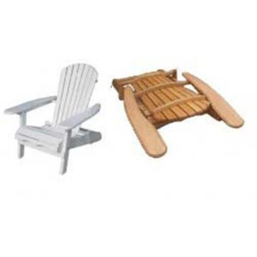 Merry Products MPG-AC01WP Painted Simple Adirondack Chair
