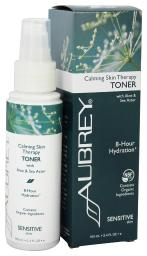 Aubrey Organics - Calming Skin Therapy Toner with Aloe & Sea Aster - 3.4 fl. oz. (Formerly Vegecol Alcohol-Free Facial Toner)