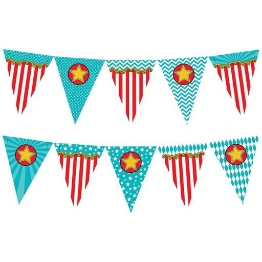 Teacher Created Resources TCR5808 Carnival Pennants Banner