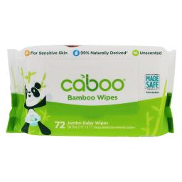 Caboo - Bamboo Baby Wipes Unscented