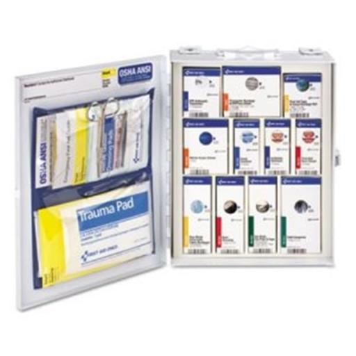 First Aid Only FAO90658 25 Person Medium Metal Smart Compliance Food Service Cabinet & ANSI A