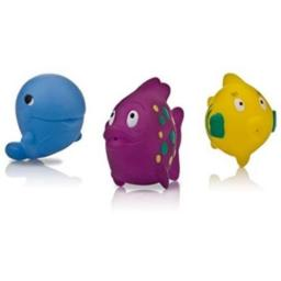 Merchandise 55258627 Nuby Bath Fun Fish Squirter Bath Toys, 3 Count