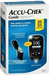 Accu-chek Guide Blood Glucose Monitoring System - 1 Ea