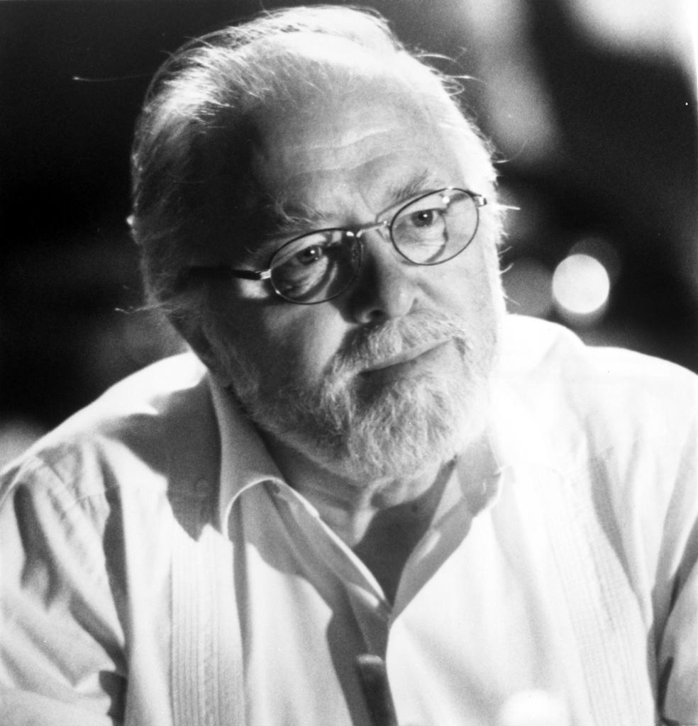 A publicity still of Richard Attenborough in Jurassic Park Photo Print