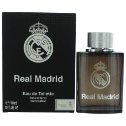 FC Real Madrid Black by Air-Val International, 3.4 oz EDT Spray men