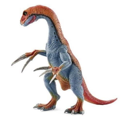 Therizinosaurus Toy Figure, Red & Blue 6LUBE4GD51FAYHG7