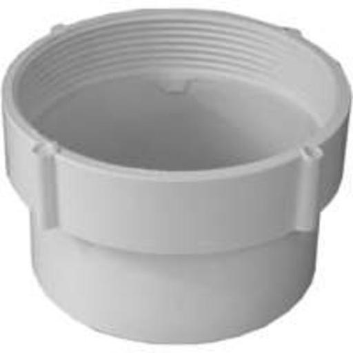 Genova 41639 Sewer & Drain Cleanout Adapter, 4