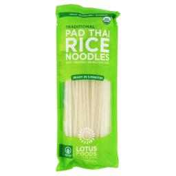 Lotus Foods - Pad Thai Rice Noodles Traditional
