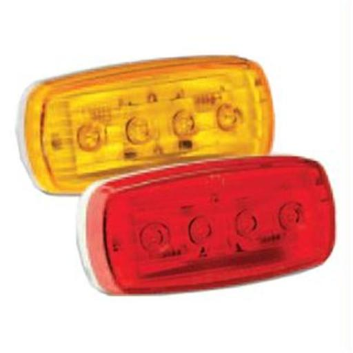 Wesbar LED Clearance/Side Marker Light - Amber No.58 with Pigtail - 401585KIT