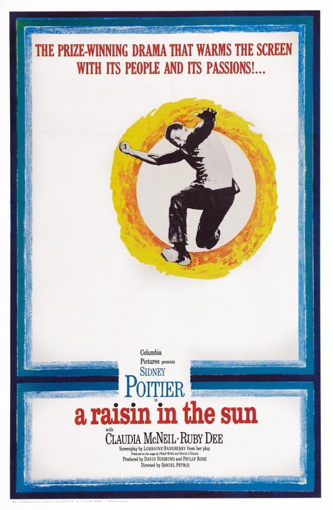 A Raisin In The Sun Us Poster Art Sidney Poitier 1961. Movie Poster Masterprint