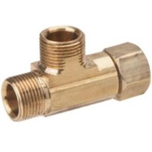 Brass Craft Ct2-664xp Brass Pipe Fittings Tee, 3/8