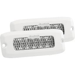 Rigid industries sr-q series  pro diffused flush mount pair 975513 975513