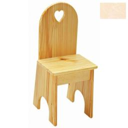 Little Colorado 022UNFHT Solid Back Heart Kids Chair