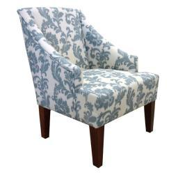 Armen Ikat Fabric Accent Chair