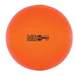 Champion Sports Fp65no 65 Cm Fitpro Training & Exercise Ball, Neon Orange