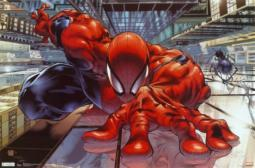 The Amazing Spiderman Wall Crawler Poster Poster Print SCO5325