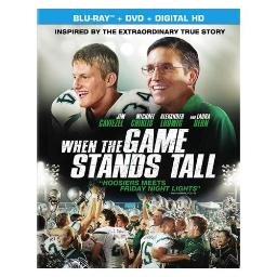 WHEN THE GAME STANDS TALL (BLU-RAY/DVD COMBO/ULTRAVIOLET/WS 1.85/DD5.1) 43396439412