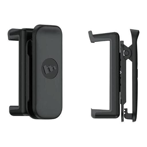 Mophie 3829546 iPhone & Android Virtually all smartphones Belt Clip & Phone Holder, Black