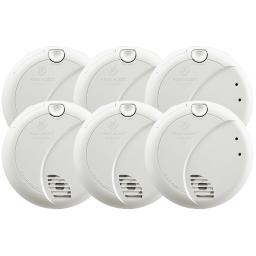 First Alert Hard-Wired w/Battery Back-up Photoelectric Smoke Detector - Case Of: 1;